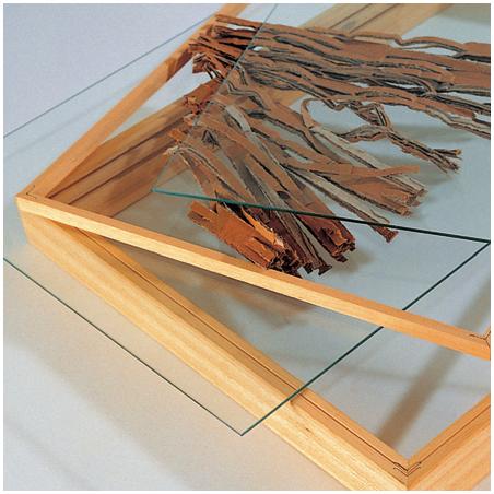 Cadres en bois avec verre UNO vario
