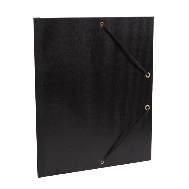 Cartons à dessins série «noir» sans rabats