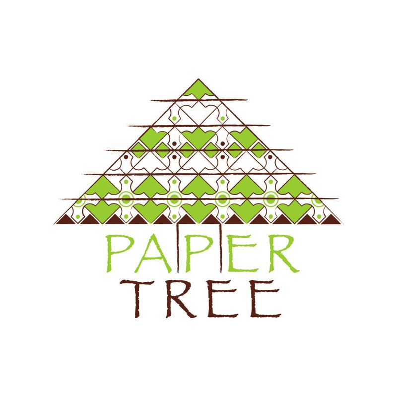 Papiers faits main motifs Paper Tree