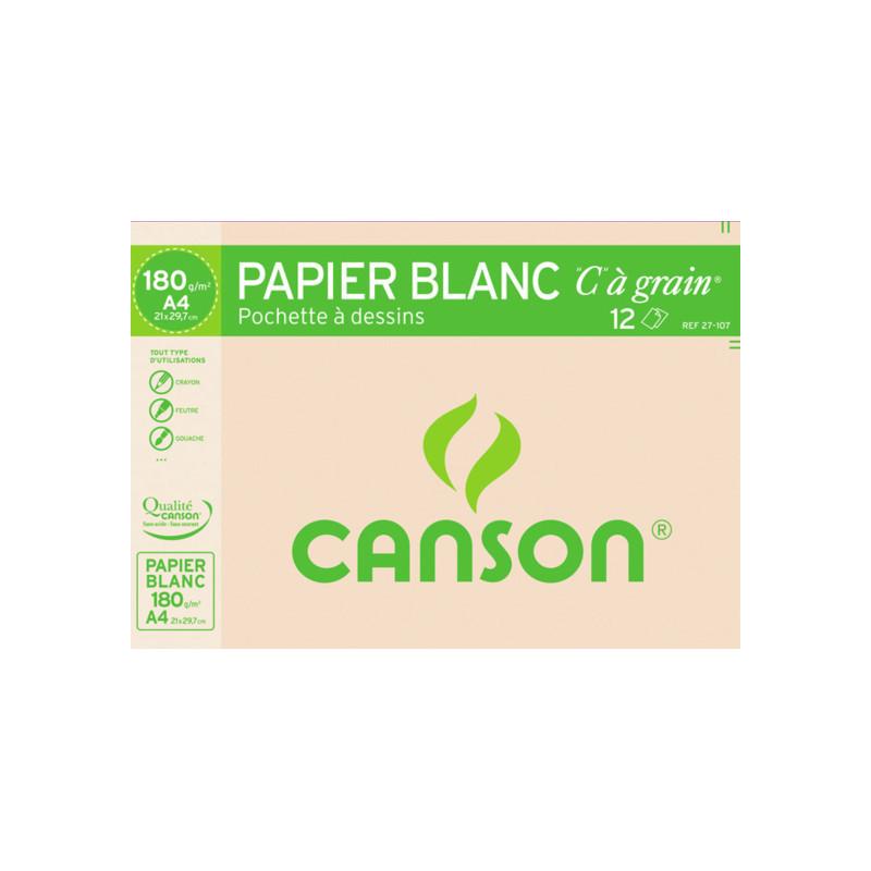 Pochette papier à dessin C à Grain