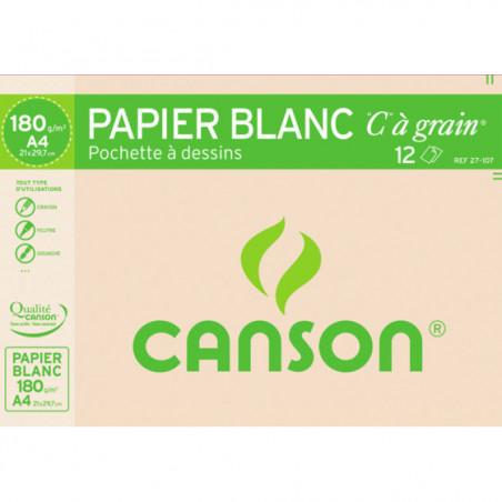 Papier à dessin C à Grain pochette