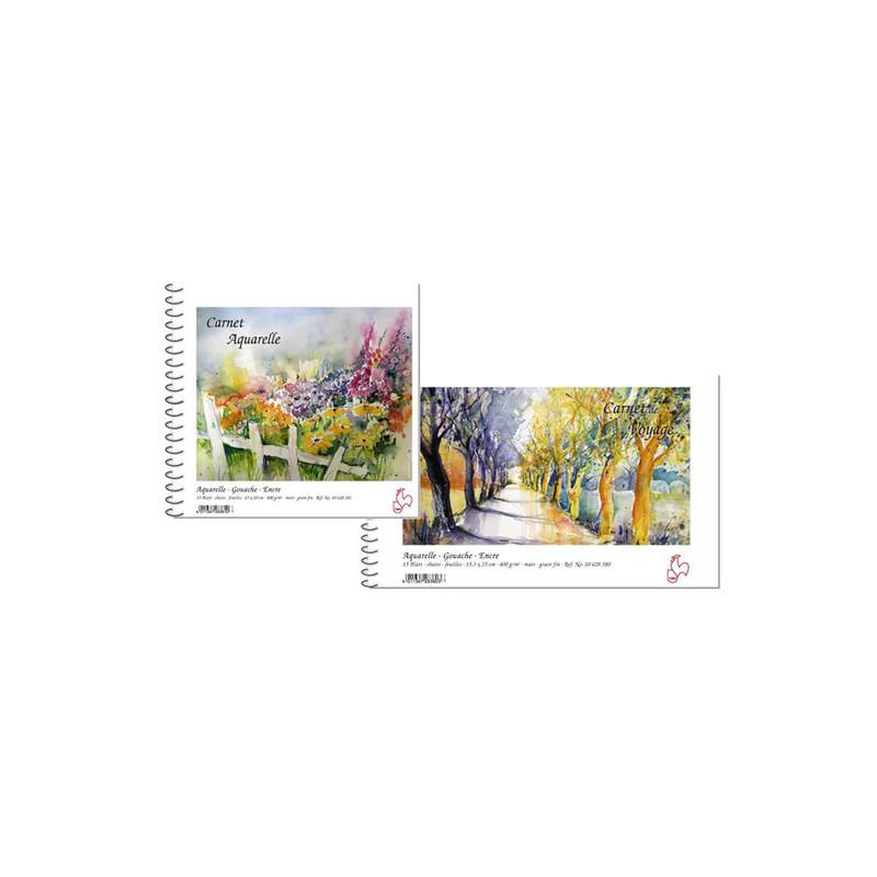 Carnet Moulin du Coq carnet aquarelle et de voyage