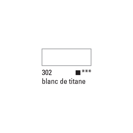 BOESNER ACRYL STUDIO 500ML 302 BLANC TITANE