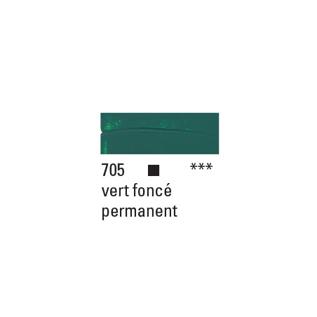 BOESNER ACRYL STUDIO 500ML 705 VERT FONCE PERMANENT