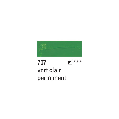 BOESNER ACRYL STUDIO 100ML 707 VERT CLAIR PERMANENT