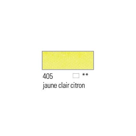 BOESNER AQUARELLE STUDIO 1/1GODETS 405 JAUNE CLAIR CITRON