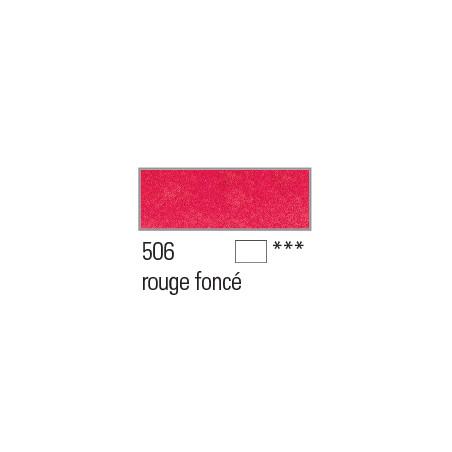 BOESNER AQUARELLE STUDIO 1/1GODETS 506 ROUGE FONCE