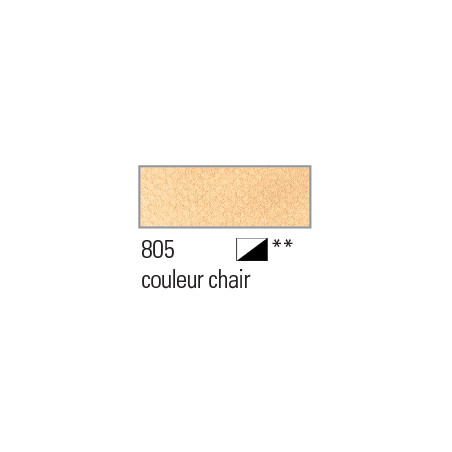 BOESNER AQUARELLE STUDIO 1/1GODETS 805 COULEUR CHAIR