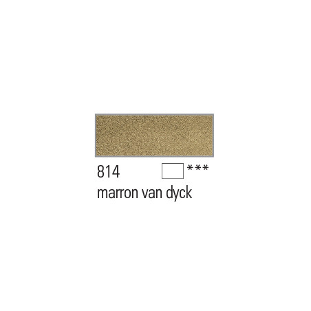 BOESNER AQUARELLE STUDIO 1/1GODETS 814 MARRON VAN DYCK