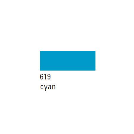 BOESNER GOUACHE STUDIO 500ML 619 CYAN