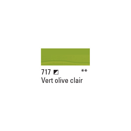 BOESNER ACRYL STUDIO 100ML 717 VERT OLIVE CLAIR