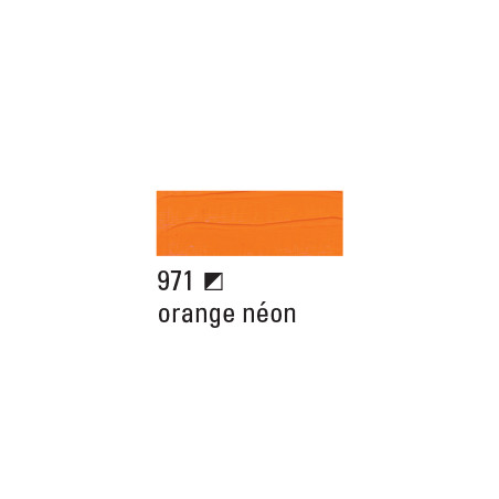 BOESNER ACRYL STUDIO 250ML 971 ORANGE NEON