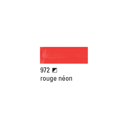 BOESNER ACRYL STUDIO 250ML 972 ROUGE NEON