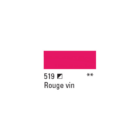 BOESNER ACRYL STUDIO 500ML 519 ROUGE VIN