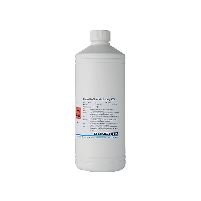 Solution au chlorure ferrique