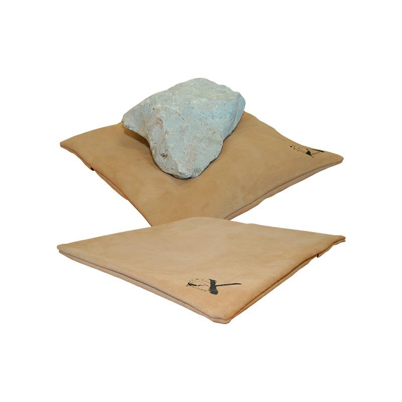 Coussin en cuir pour sculpture Artistix
