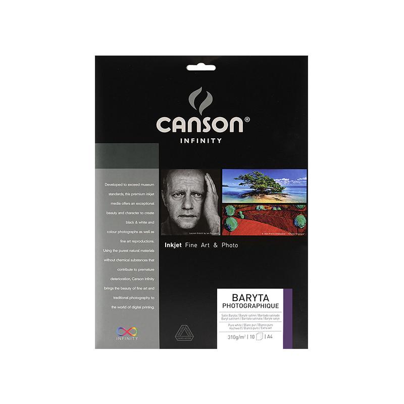 Papier d'impression Baryta photo 310g Canson