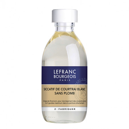 LEFRANC&BOURGEOIS SICCATIF COURTRAI BLANC 250ML