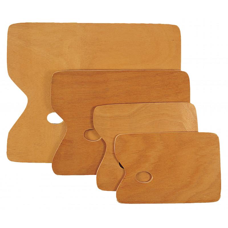 Palettes rectangulaires en bois