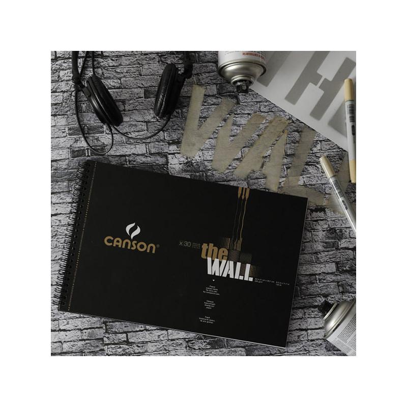 Bloc de papier Canson The Wall
