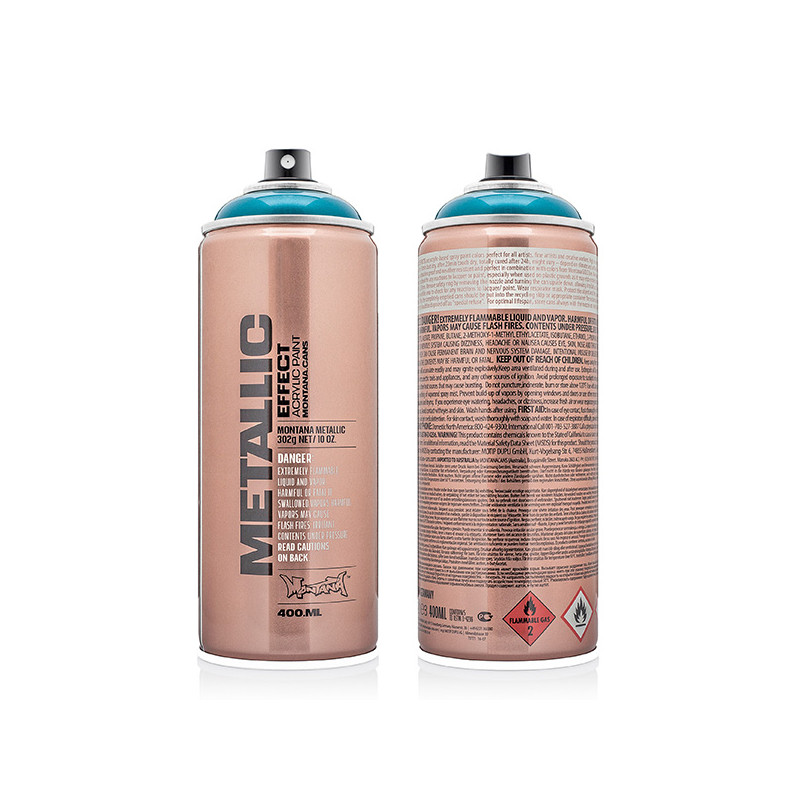 Bombe acrylique Montana Metallic Effect