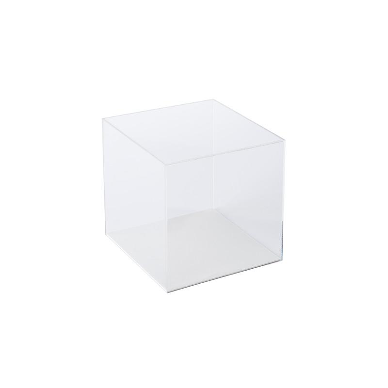 Cube acrylique transparent Briolet