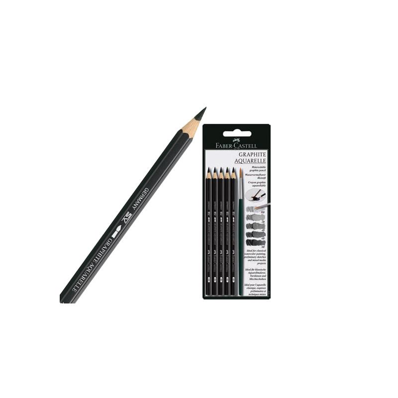 Crayon graphite 9000 aquarellable