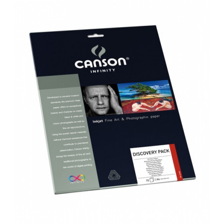 CANSON INFINITY PAPIER IMPRESSION RAG PHOTO 210G A4 10F