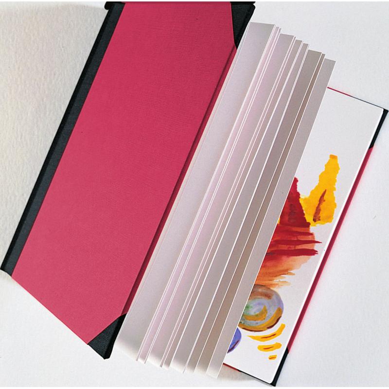 Albums pour l'aquarelle, la gouache, l'acrylique, les craies, le fusain, les pastels et la peinture graphite