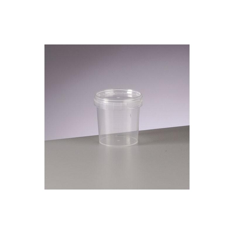Pot vide bo te vide en plastique transparent pour - Peinture pour plastique exterieur ...