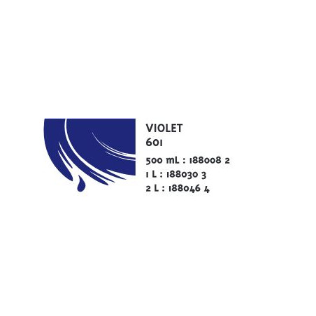 COLOR&CO GOUACHE 500ML 601 VIOLET