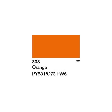 LASCAUX GOUACHE FINE 500ML 303 ORANGE