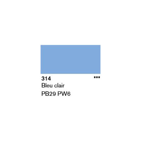 LASCAUX GOUACHE FINE 500ML 314 BLEU CLA