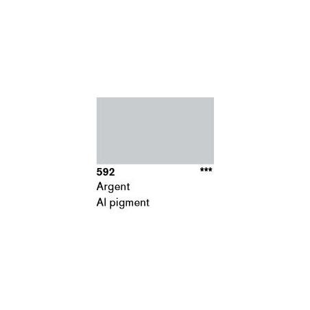 LASCAUX GOUACHE RESONANCE 50ML 592 ARGENT...SUP/FRS.../A EFFACER