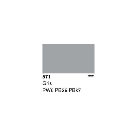 LASCAUX GOUACHE RESONANCE 50ML 571 GRIS...SUP/FRS.../A EFFACER