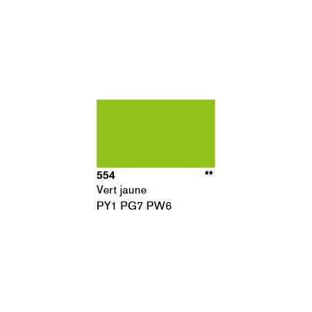 LASCAUX GOUACHE RESONANCE 50ML 554 VERT JNE...SUP/FRS.../A EFFACER