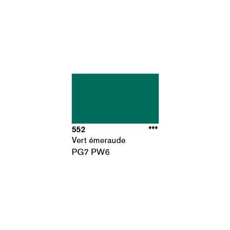 LASCAUX GOUACHE RESONANCE 50ML 552 EMERAUDE...SUP/FRS.../A EFFACER