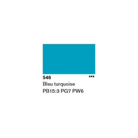 LASCAUX GOUACHE RESONANCE 50ML 546 TURQ...SUP/FRS.../A EFFACER