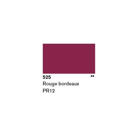 LASCAUX GOUACHE RESONANCE 50ML 525 BORDEAUX...SUP/FRS.../A EFFACER
