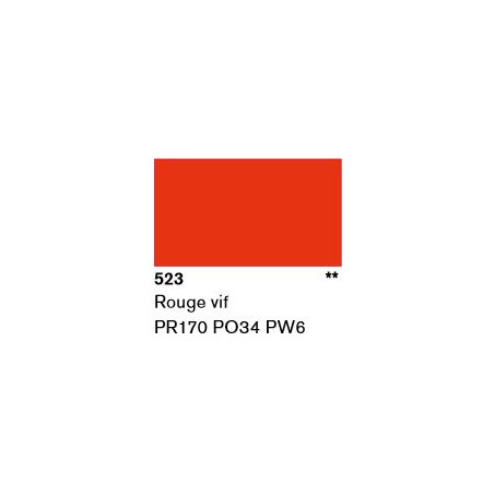 LASCAUX GOUACHE RESONANCE 50ML 523 RGE FRC...SUP/FRS.../A EFFACER