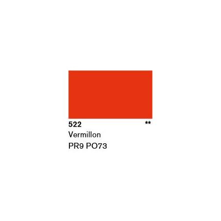 LASCAUX GOUACHE RESONANCE 50ML 522 VERMILLON...SUP/FRS.../A EFFACER