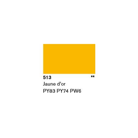 LASCAUX GOUACHE RESONANCE 50ML 513 JNE OR...SUP/FRS./A EFFACER