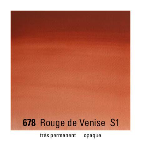 WINSOR&NEWTON AQUARELLE 1/2 GODET S1 678 ROUGE VENISE