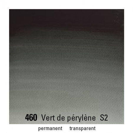 WINSOR&NEWTON AQUARELLE 5ML S2 460 VERT PERYLENE