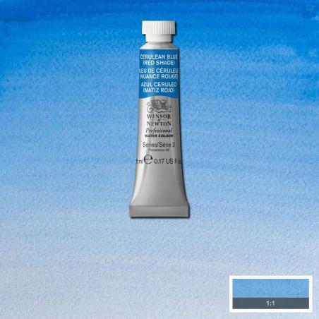 WINSOR&NEWTON AQUARELLE 5ML S3 140 BLEU DE CERULEUM NCE ROUGE
