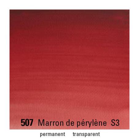 WINSOR&NEWTON AQUARELLE 1/2 GODET S3 507 MARRON PERYLENE