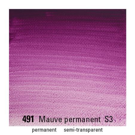 WINSOR&NEWTON AQUARELLE 1/2 GODET S3 491 MAUVE PERM.