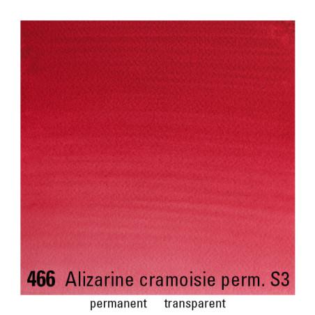 WINSOR&NEWTON AQUARELLE 1/2 GODET S3 466 CRIMSON ALIZARINE PERM.