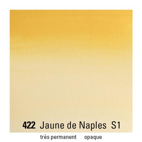 WINSOR&NEWTON AQUARELLE 1/2 GODET S1 422 JAUNE NAPLES