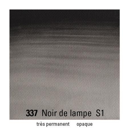 WINSOR&NEWTON AQUARELLE 1/2 GODET S1 337 NOIR FUMEE